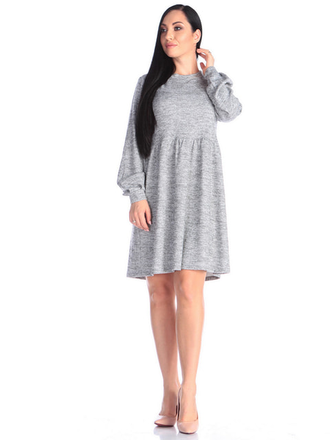 Сукня сіра Victoria Loks 4672365