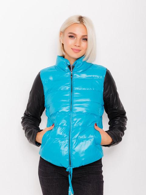Куртка бірюзова Magnet 4678527