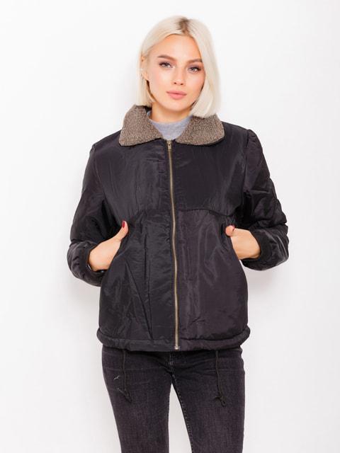 Куртка чорна Magnet 4678554
