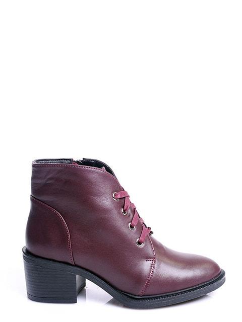Ботинки бордовые Viscala 4678691
