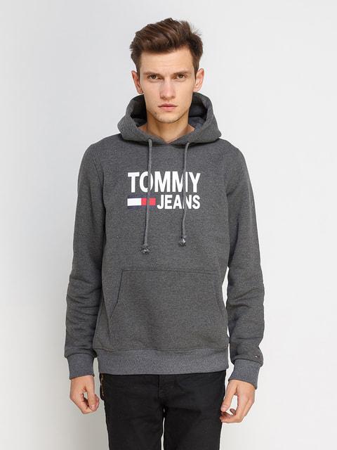 Худі темно-сіра Tommy Hilfiger 4675976