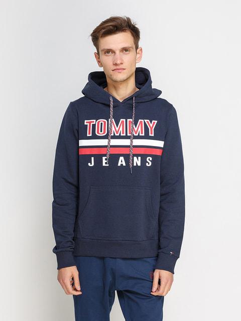 Худі темно-синя Tommy Hilfiger 4675985
