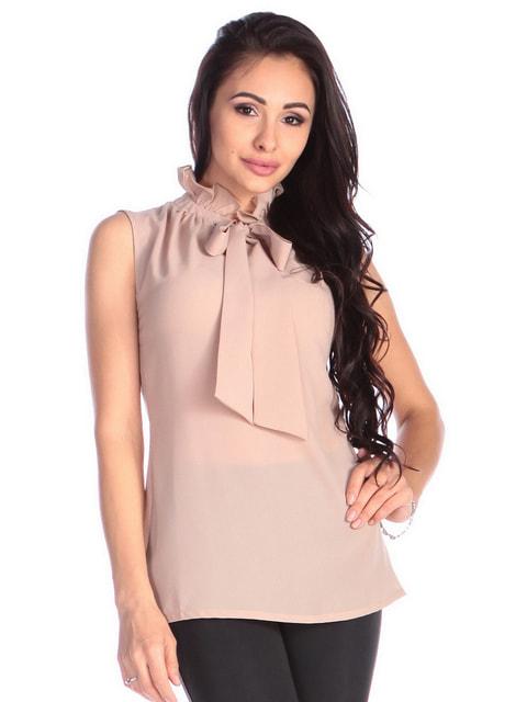 Блуза бежевая Dioni 4677396