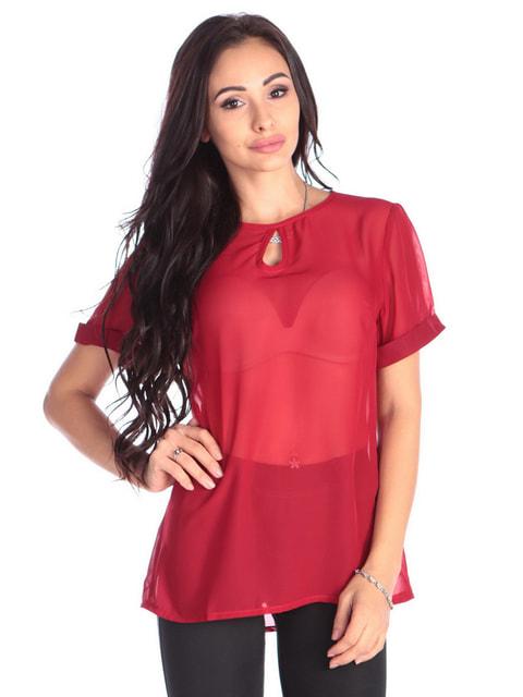 Блуза червона Dioni 4677397