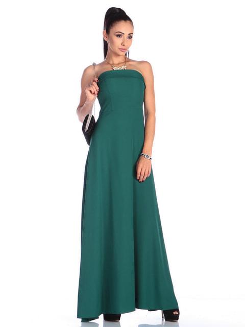 Платье темно-изумрудное Laura Bettini 4683279
