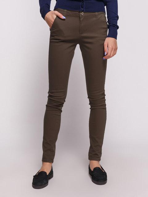 Штани кольору хакі Alcott 4627121