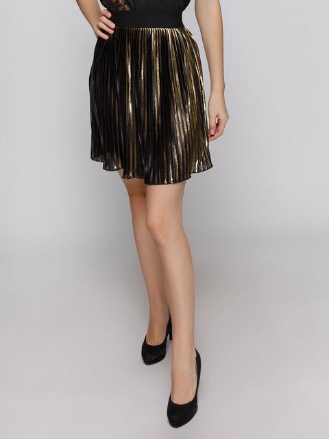 Спідниця золотистого кольору Pimkie 4631052