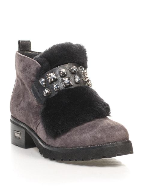 Ботинки серые Blizzarini 4609711