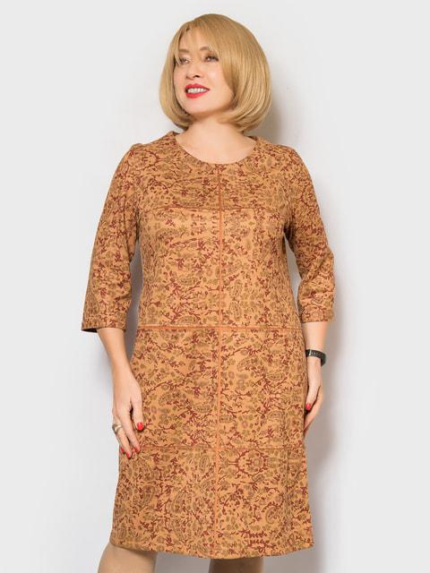 Сукня рудого кольору LibeAmore 4688746