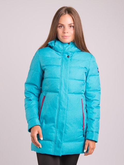Куртка бірюзова Avecs 4682584
