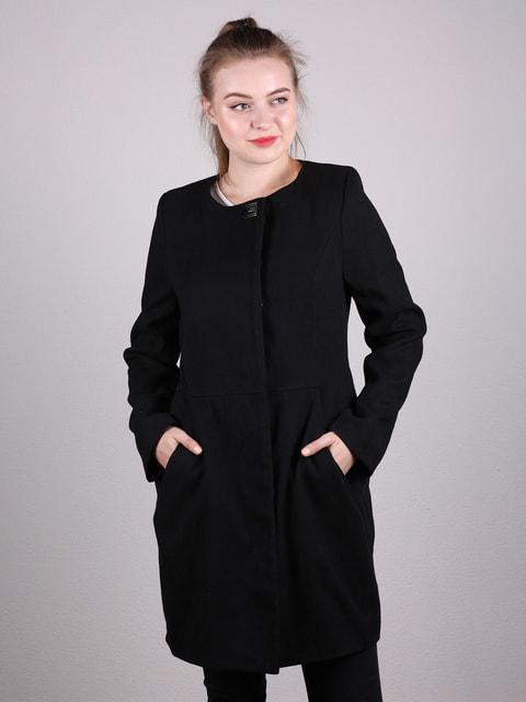 Пальто черное Artua Collection 4690608