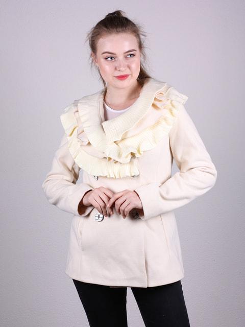 Полупальто кремового цвета Artua Collection 4690625