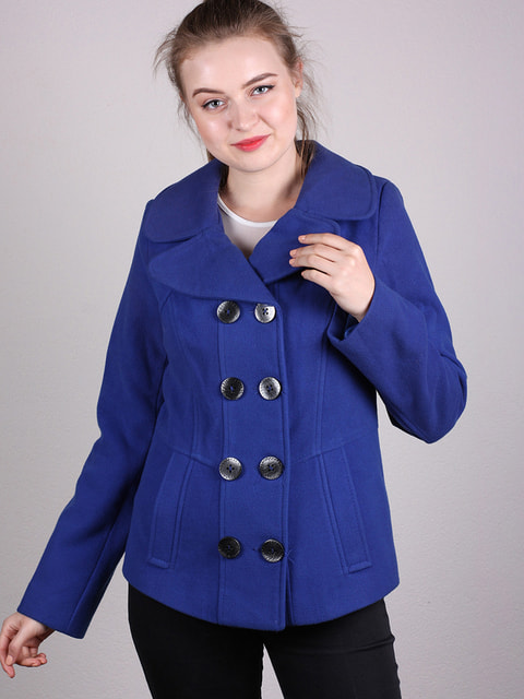 Полупальто синее Artua Collection 4690628