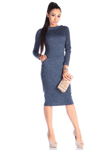 Сукня темно-синя Laura Bettini 4636830