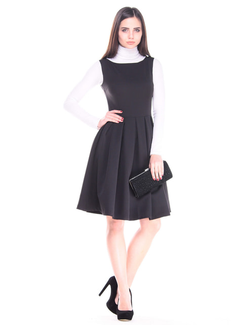 Платье черное Dioni 4683177