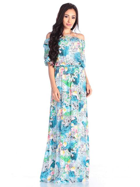 Сукня в принт Dioni 4683225