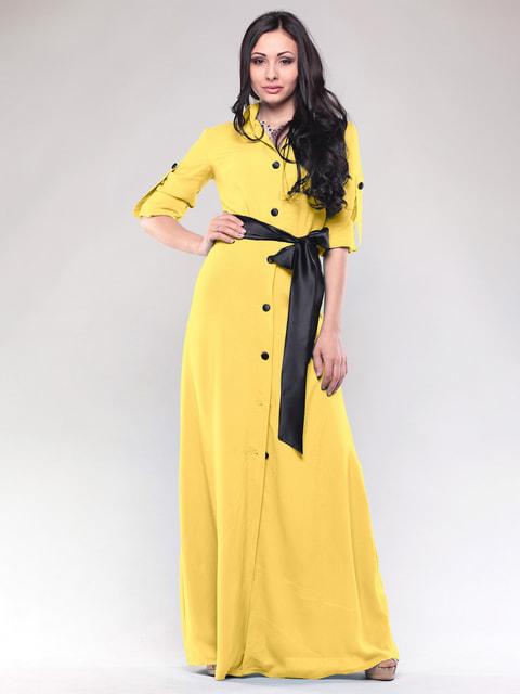 Сукня жовта Maurini 4687460