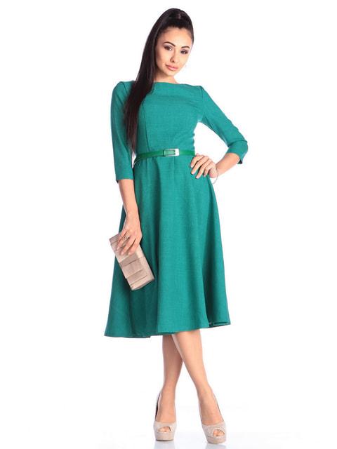 Сукня темно-смарагдового кольору Laura Bettini 4690426
