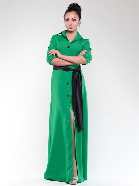 Платье изумрудного цвета Maurini 4690445