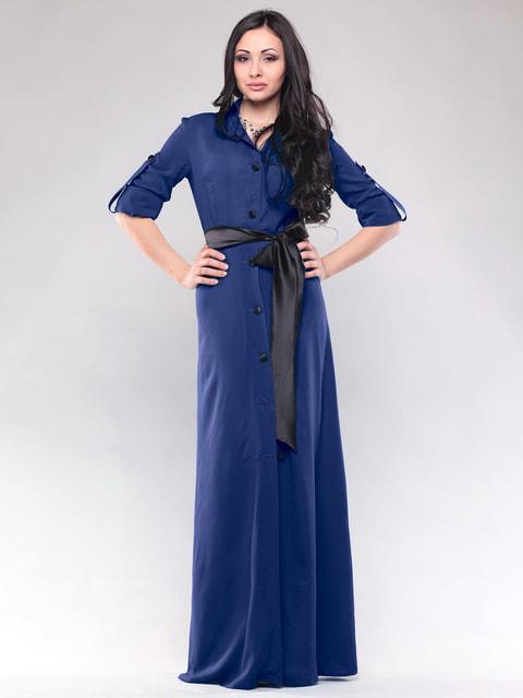 Сукня синя Maurini 4690449