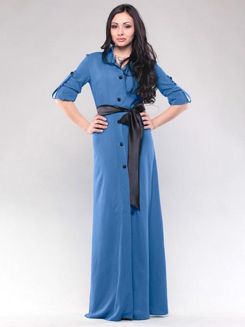 Сукня синя Maurini 4690451