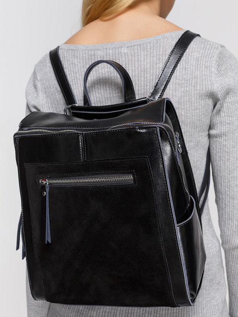 Рюкзак чорний NUBE 4685159