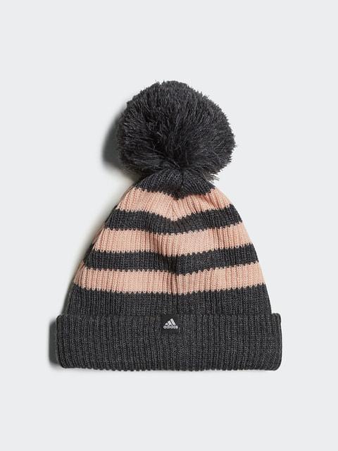 Шапка серо-розовая Adidas 4556808