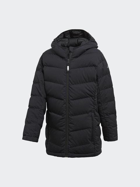 Пуховик черный Adidas 4692052