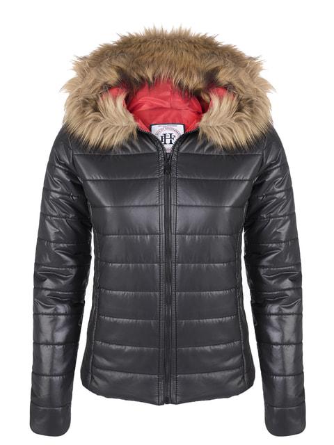 Куртка чорна FELIX HARDY 4692150