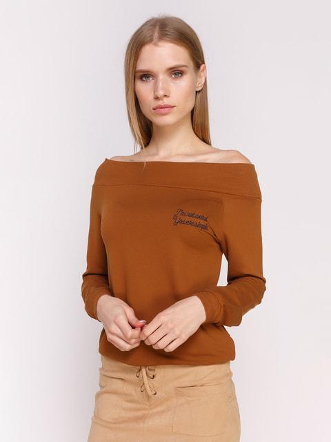 Джемпер коричневый Pull&Bear 4654933