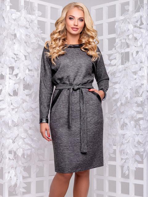 Сукня темно-сіра Seventeen 4692484