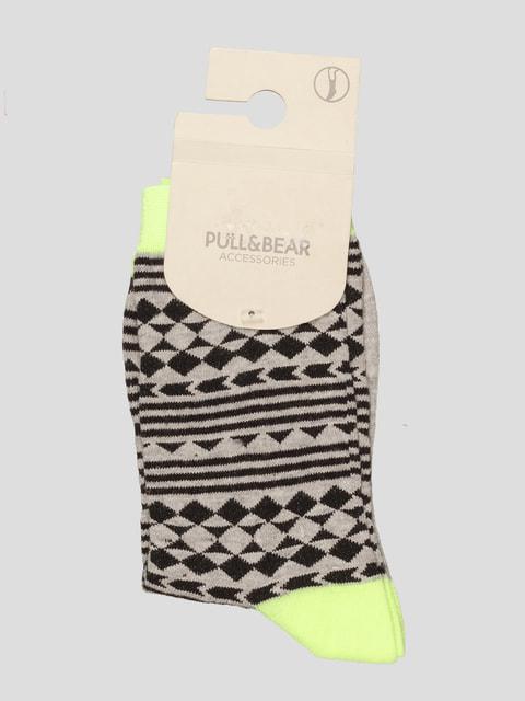 Шкарпетки сірі Pull&Bear 4647270