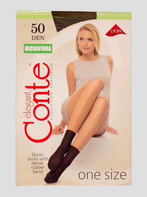 Шкарпетки 50 Den бежеві Conte 4662931