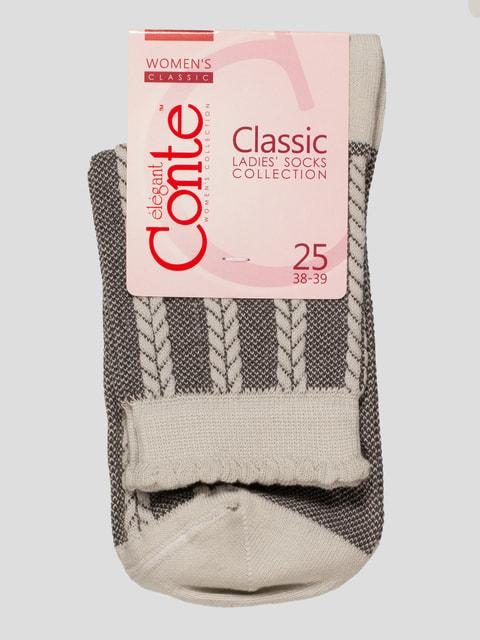 Шкарпетки сірі Conte 4451166
