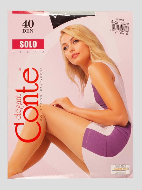 Колготки 40 Den графітового кольору Conte 4639368