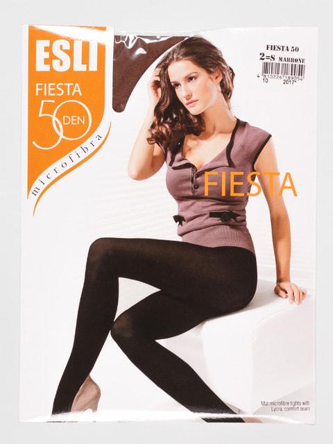 Колготки 50 Den коричневые Esli 4663082
