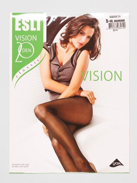 Колготки 20 Den коричневые Esli 4663102