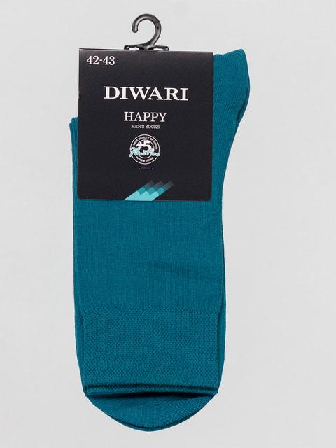 Шкарпетки бірюзові DIWARI 4663392