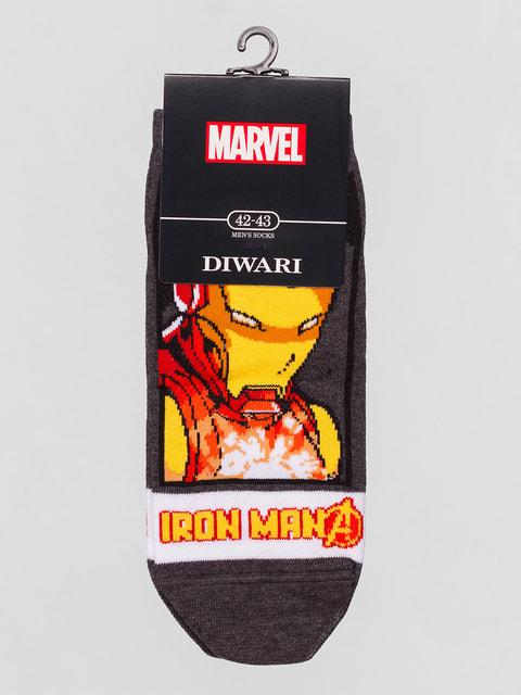 Шкарпетки в принт DIWARI 4663400