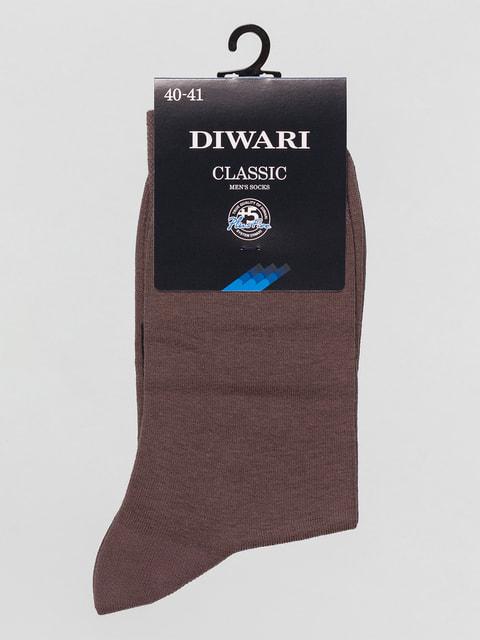Носки темно-бежевые DIWARI 4451154