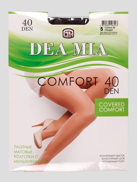 Колготки 40 Den графитового цвета DEA MIA 4663137