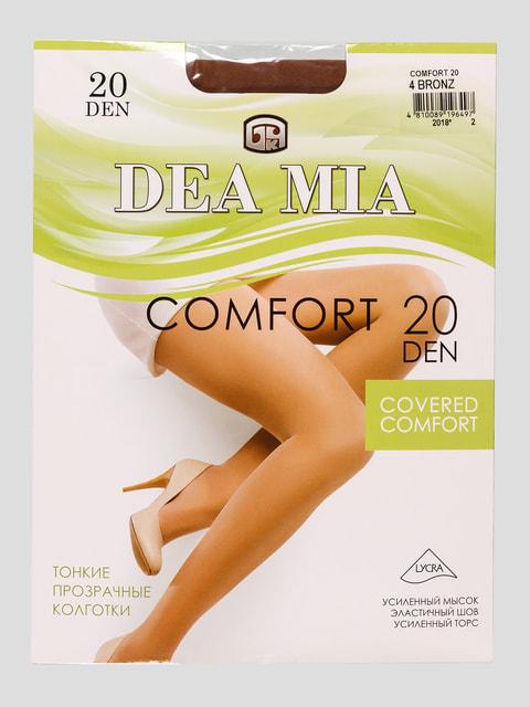 Колготки 20 Den цвета бронзы DEA MIA 4663128