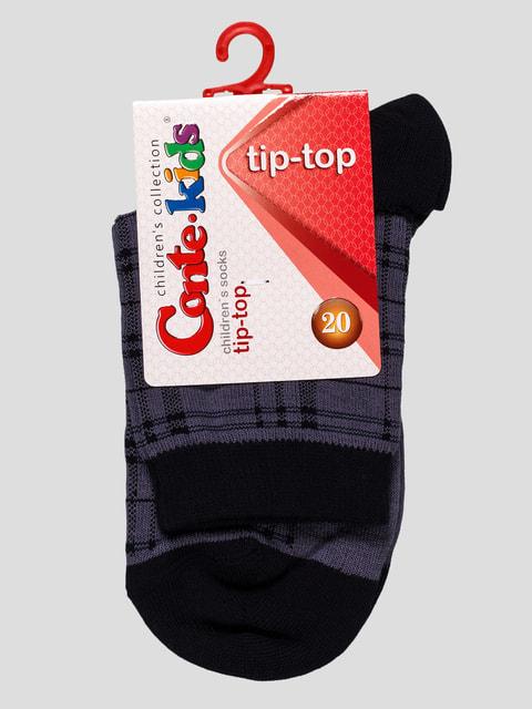 Шкарпетки в клітку Conte Kids 4663634