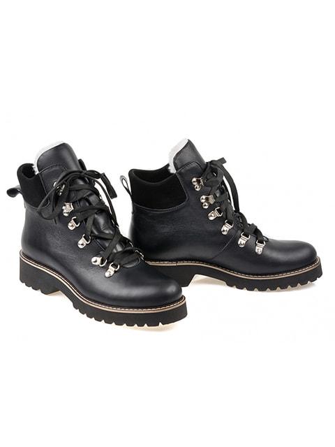Ботинки черные LeoModa 3873669