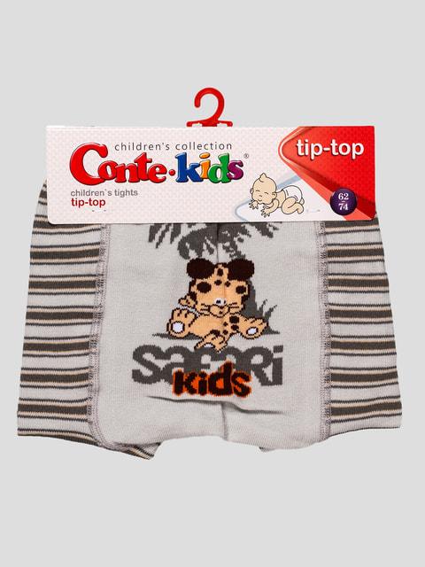 Колготки сірі Conte Kids 4663548