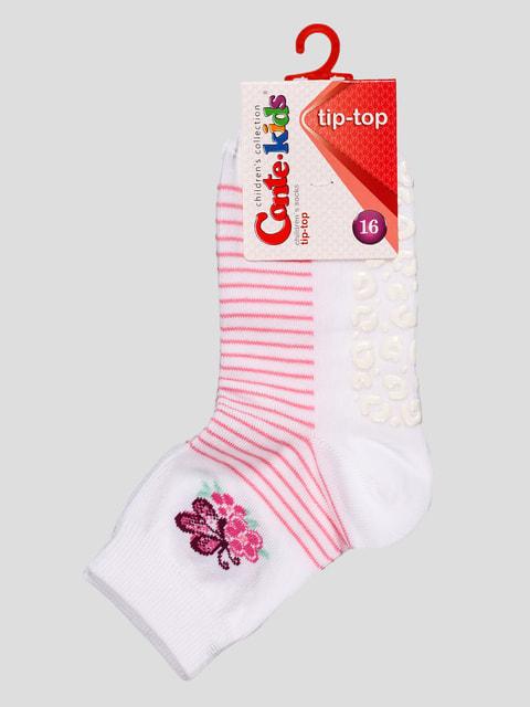 Шкарпетки білі Conte Kids 4663670