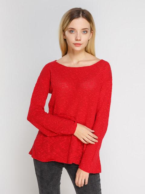 Джемпер красный Pull&Bear 4654938