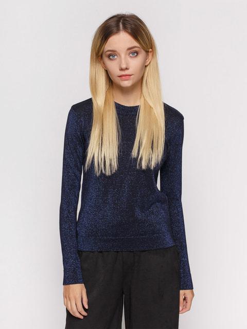 Джемпер темно-синій Pull&Bear 4654959