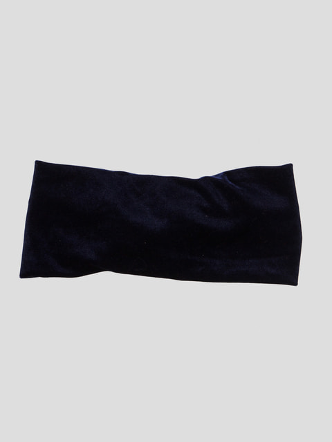 Пов'язка на голову темно-синя Pull&Bear 4647243