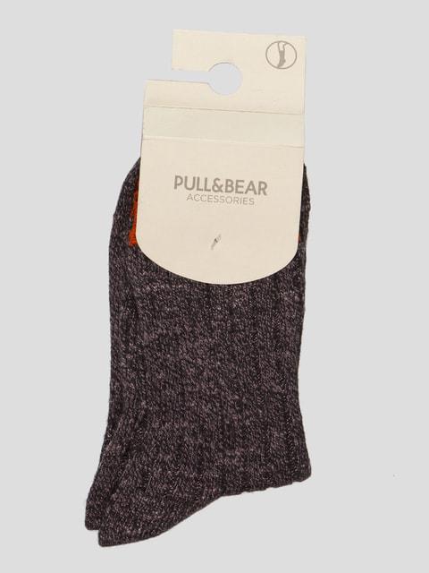 Шкарпетки графітового кольору Pull&Bear 4646964